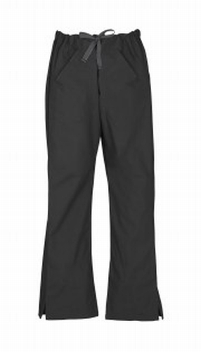 Black Ladies Classic Nursing Scrub Pants
